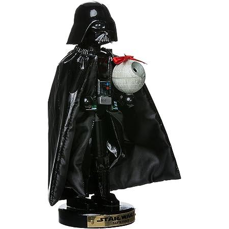 Kurt Adler Darth Vader with Death Star Nutcracker, 10-Inch