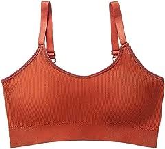 BODOAO Sexy Women's Bra Vest Thin Solid Color Wrap Chest Vest Underwear Bra