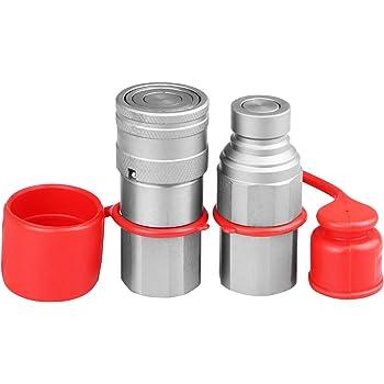 1//2 x M22 x 1.5 Male Thread Faster Coupling 3CFPV 1//2215 F ISO A Steel Female
