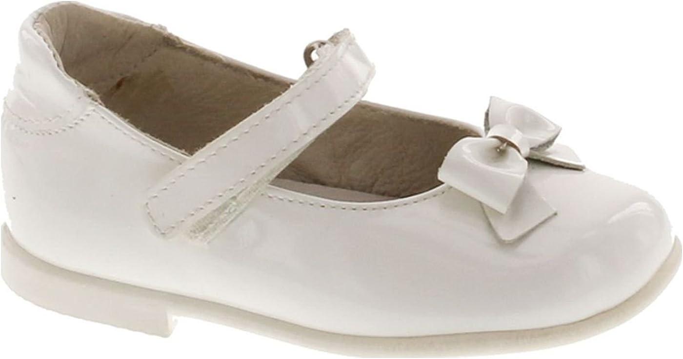 Piulin Girls 2711 European Leather Dress Flats Shoes
