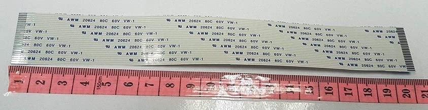 10pcs FFC FPC 26-pin 0.5 mm Pitch Ribbon Flat Cable Wire ZIF DISQUE DUR 20 cm de long NOUVEAU