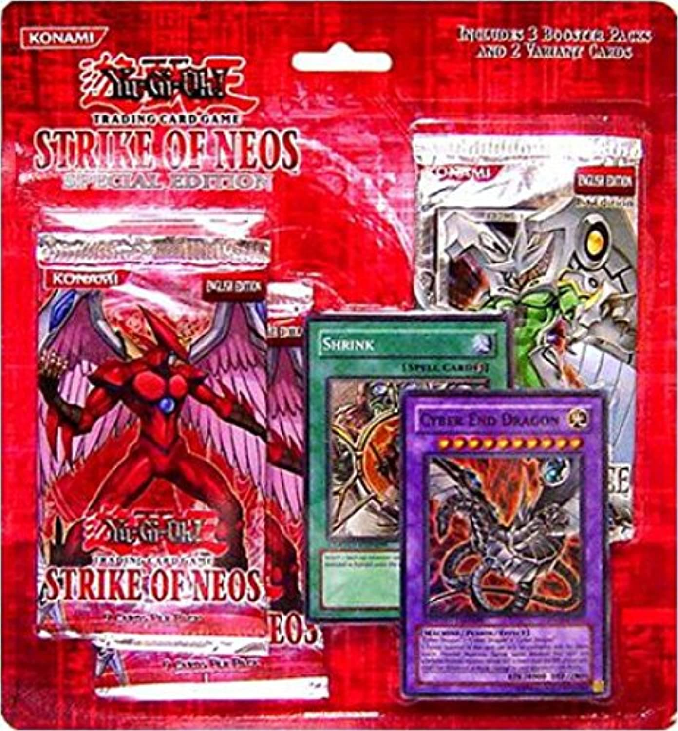 YuGiOh Strike of Neos Special Edition pack