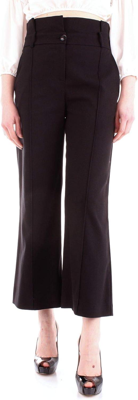 PATRIZIA PEPE Women's 8P0209A3KEK103 Black Polyester Pants