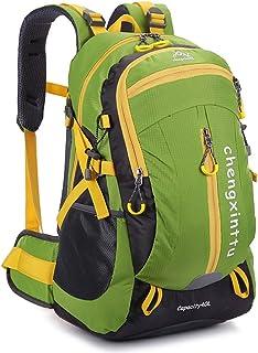 Mochila de viaje Montañismo Mochila Camping Ocio Viaje de nylon Paseando Camping Viaje Neutral Hombros multifuncionales adecuados para uso al aire libre Camping, senderismo, senderismo, escalada, esca