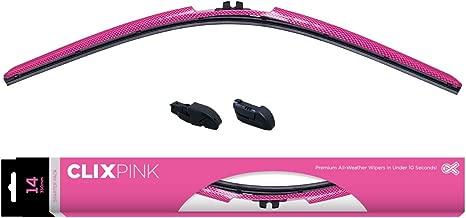 AutoTex PINK AP-PF26 AutoTex Windshield Wiper Blade, Pink Frame, 26