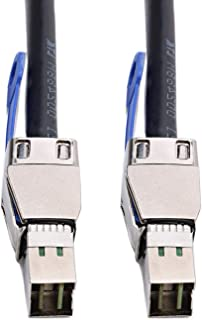 CableDeconn External HD Mini SAS SFF 8644 to Mini SAS SFF 8644 Cable (2M)