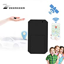 Mini GPS Tracker, Zeerkeer GPS Tracker Real-time Tracking Smart Energy Saving for Child The Baggage Wallet Kids Important Document