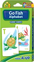 SCHOOL ZONE - Go Fish Alphabet Game Cards - 52 Game Cards