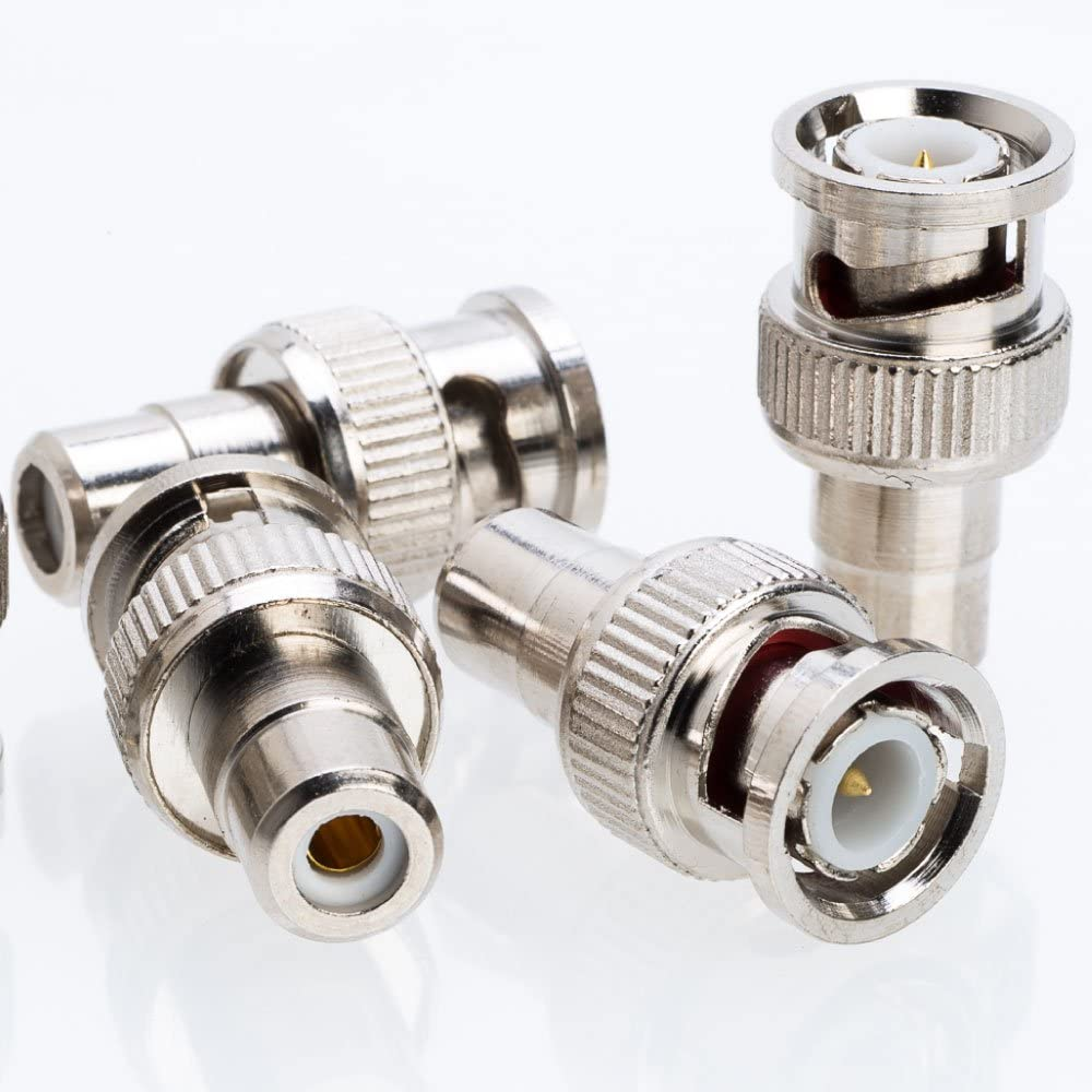 RCA Female to BNC Male Adapter Max 64% OFF Connector 50 Pack Overseas parallel import regular item 20 100 10 30