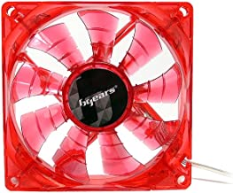 Bgears b-PWM 80mm Red Cooling b-PWM 80 Red 2Ball Translucent Red