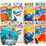 Finding Dory Party Favors Set - 8 Play Packs Filled with Coloring Books, Crayons and Stickers, 3 Assorted Titles (Finding Nemo Party Supplies)