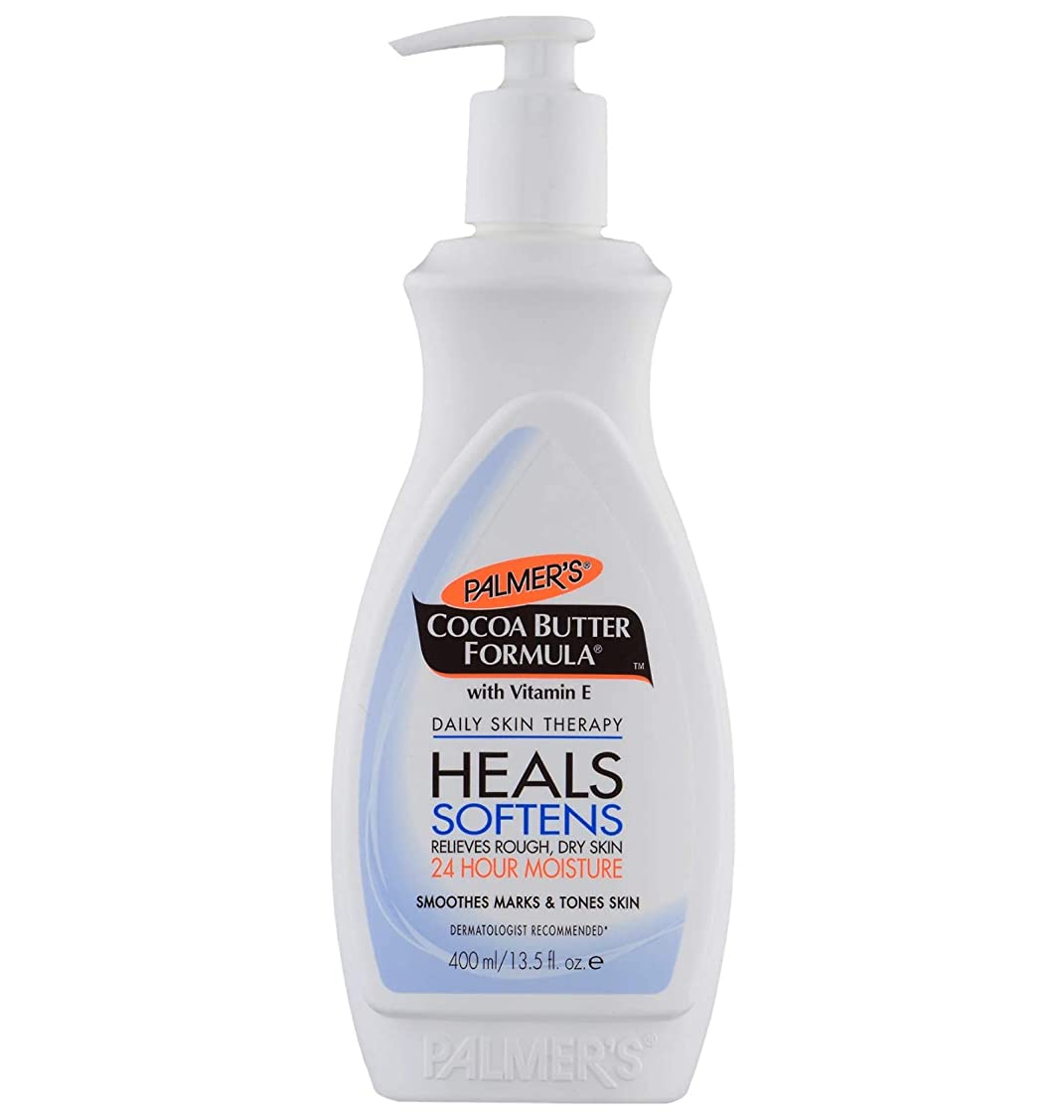 セマフォ放牧する腹部Palmer's Cocoa Butter Formula Moisturizing Lotion, Pump 400ml