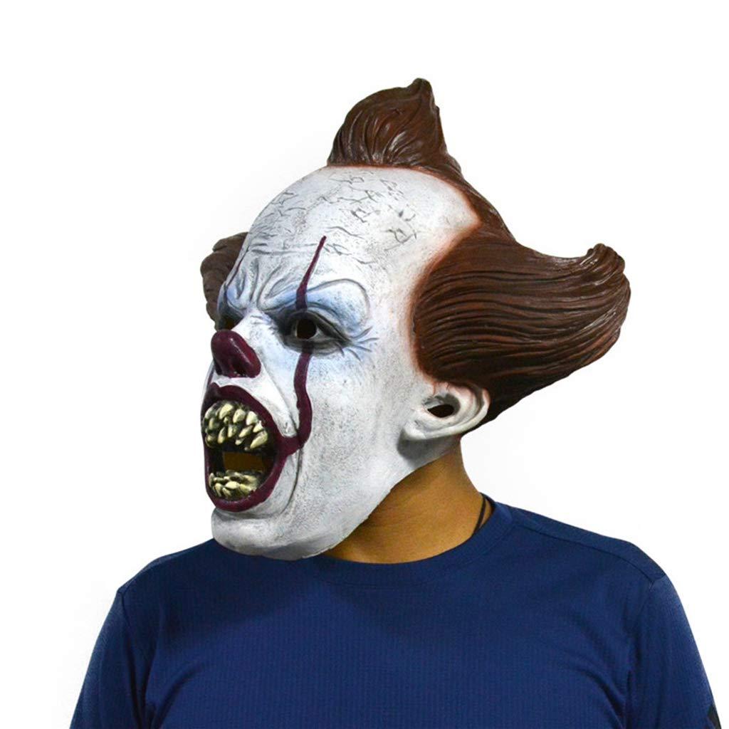 HS-ZM-06 Máscara De Halloween Cosplay Tocado Casa Embrujada ...