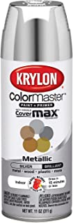 Best Krylon K05151102 ColorMaster Paint + Primer, Metallic, Silver, 11 oz. Review