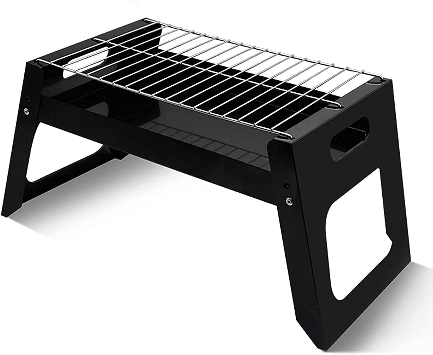 AACXRCR Rare Barbecue tool set Grill Charcoal New product! New type Foldable Camp