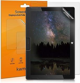 kwmobile 2X Pellicola Protettiva Compatibile con Tablet Microsoft Surface Go 1/2 - Superficie Opaca antiriflesso Anti-Impr...