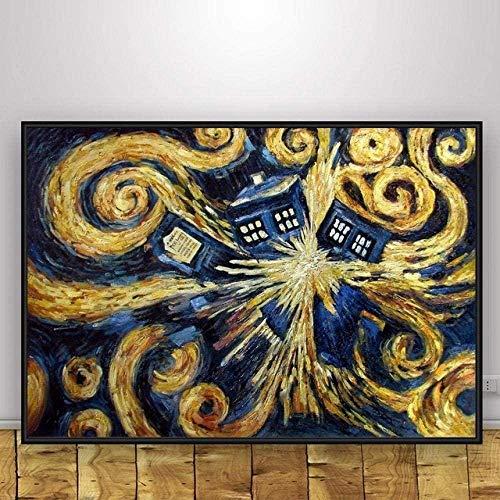 KELDOG Rompecabezas de Madera Rompecabezas de 1000 Piezas, Rompecabezas intelectuales Juguetes, Rompecabezas Casuales para Adultos   Doctor Who 1000_Pieces
