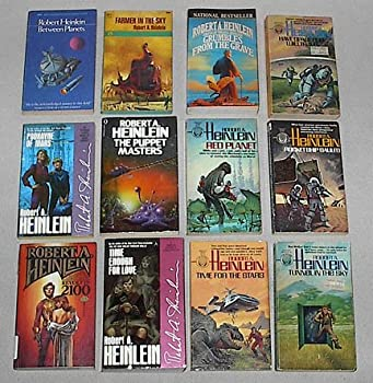 Robert Heinlein Box Set  Between Planets  Farmer in the Sky  Grumbles From the Grave  Have Space Suit-Will Travel  Podkayne of Mars  Puppet Masters  Red Planet  Rocket Ship Galileo  Revolt in 2100  Time Enough for Love  Time for Stars  Tunnel in Sky