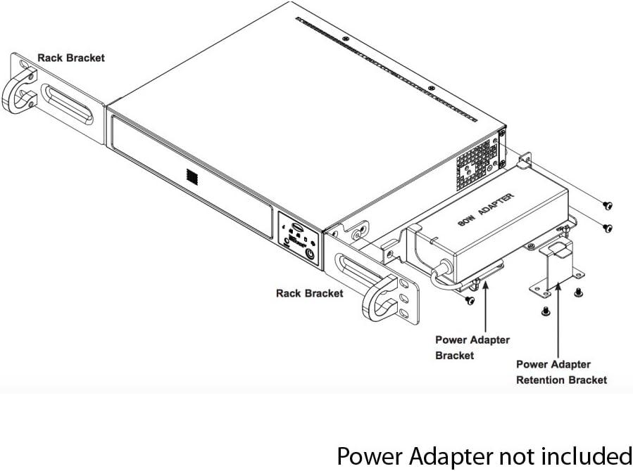 SuperMicro CSE-E300 RACKMOUNT KIT for SYS-E300-8D MCP-290-30002-0B