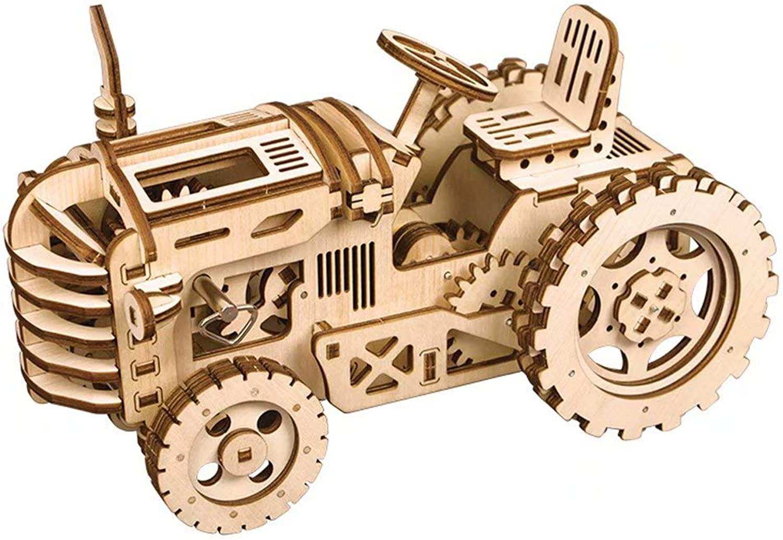 ¡envío gratis! 3D Rompecabezas Tridimensional de Madera Madera Madera Modelo de transmisión mecánica DIY Modelo ensamblado Adulto Juguete difícil Rompecabezas  buen precio