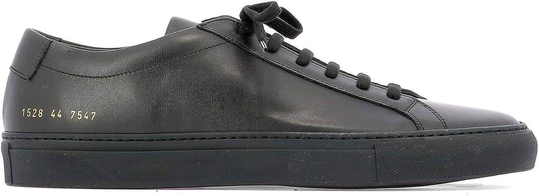 COMMON PROJECTS 15287547 Herren Schwarz Leder Sneakers B07PYFDW53  | Preisreduktion