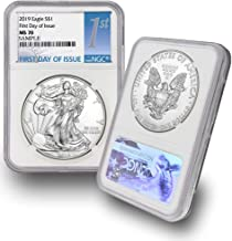 2019 American Silver Eagle $1 MS70 NGC First Day of Issue