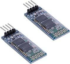 2 unidades HC-06 RS232 4 pines inalámbrico Bluetooth Serial RF Transceptor Módulo Bidireccional Serial Channel Slave Modo para Arduino