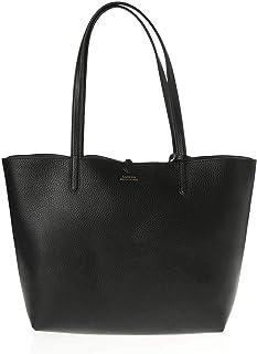 Ralph Lauren Vegan Leather-rvrsble Tote-tte-med