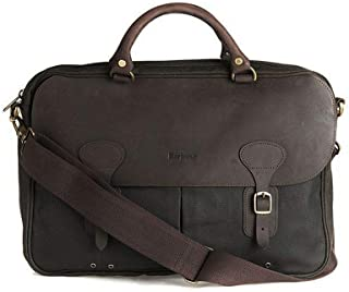 Luxury Fashion | Barbour Mens BAACC0241OL71 Brown Briefcase | Fall Winter 19
