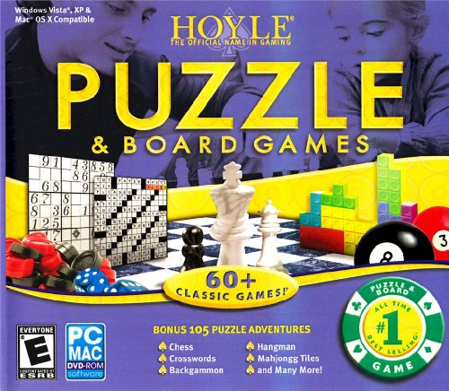 Encore HOYLE PUZZLE AND BOARD GAMES