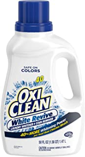 OxiClean White Revive Laundry Stain Remover, 50 fl oz