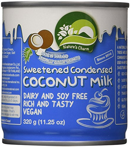 Nature's Charm Sweetened Condensed Coconut Milk, 11.25 Ounce