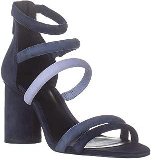 Rebecca Minkoff Andree Heeled Strappy Sandals, Dark Blue/Blue