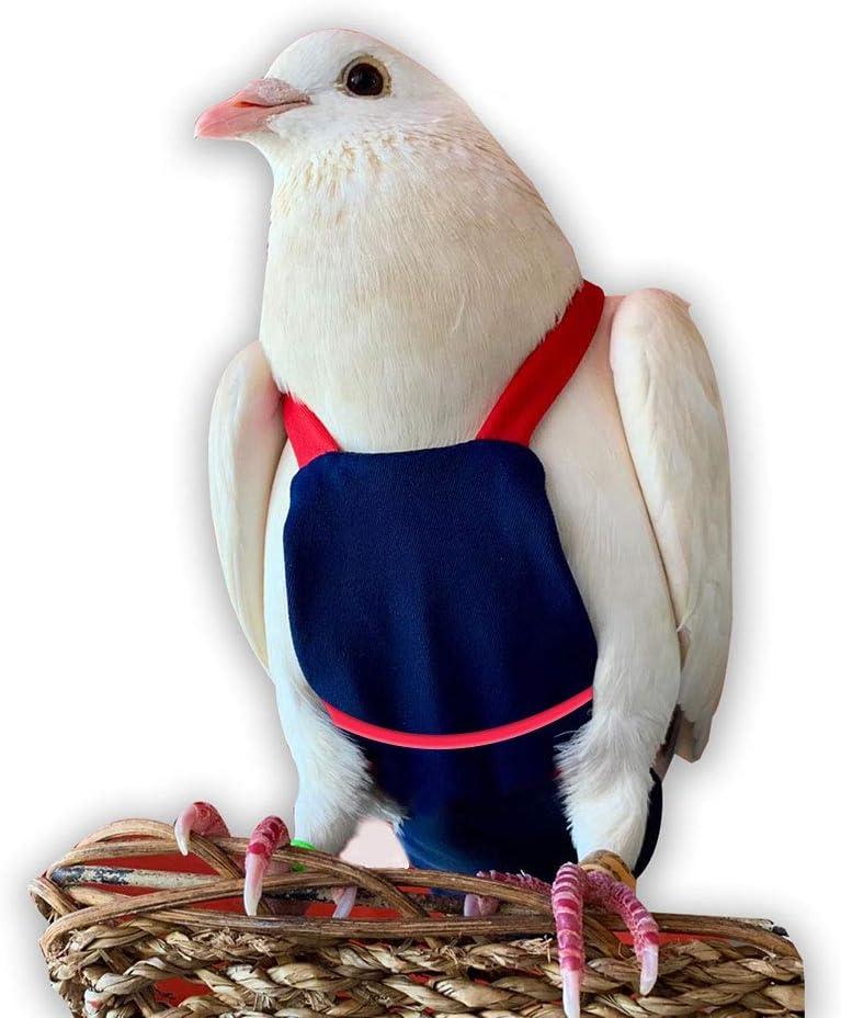 Bev's Bird Boutique - Navy 5 ☆ popular Red Back Fashion Open Flyper Style Straps