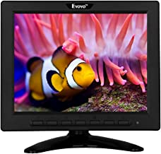 Eyoyo 8 Inch HDMI LCD 4:3 TFT LCD Mini Display 1024x768 Resolution Support HDMI VGA BNC AV USB Input with Remote Controller for Video Display DVD PC Laptop