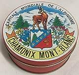 Lot de 6 sous-verres à bière Charmonix Mont Blanc