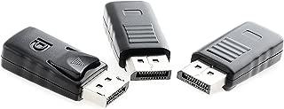 XEYOU DisplayPort Headless Ghost Display Emulator for PC 4K DP Dummy Plug (fit Headless 3840x2160@17hz)-3Pack