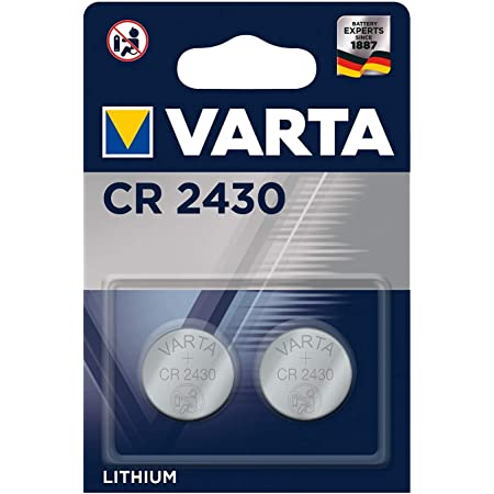Varta Batterien Electronics Cr2430 Lithium Knopfzelle Elektronik