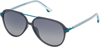 Police - SPL58258M20P Gafas de sol, Azul, 58 Unisex