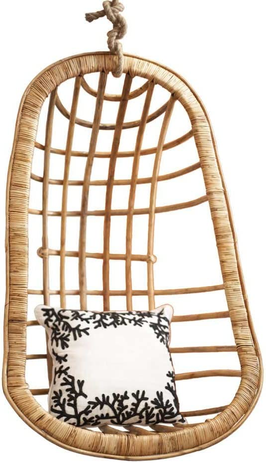 Two's Company Hanging Long-awaited Excellent Chair Rattan