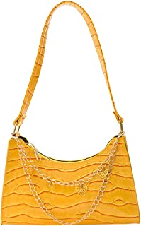 ARVALOLET Umhängetaschen,Damenhandtasche, Handtaschen, Geldbörsen unter den Armen, Umhängetaschen, Mode lässig Krokodilmus...