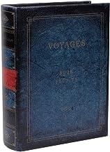 アンティーク風 シークレットボックス Lサイズ 「Voyages」 洋書型 小物入れ アクセサリー 収納 金庫 ケース