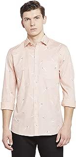 Crimsoune Club Pink Printed Men's Shirt