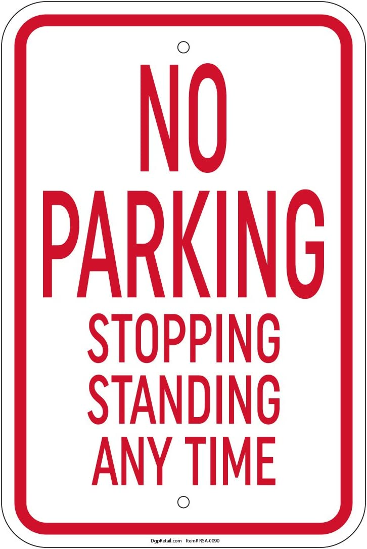 MALE No Parking Sign GYMNAST  PARKING ONLY Steel Sign gymnastics