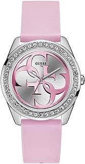 Guess g Twist Womens Analog Quartz Watch with Silicone Bracelet W1240L1