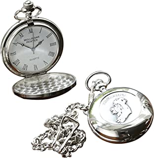 Irish Celtic Ireland Pocket Watch by Mullingar Pewter