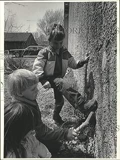 Vintage Photos 1983 Press Photo Nicole Chris Peters, Brian Gastric, Allouez, Wisconsin