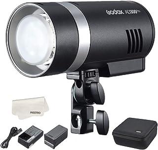 Godox AD300Pro Pocket Flash TTL 300Ws HSS 1/8000s 2.4G inalámbrico X sistema con lámpara de modelado Bicolor Batería de li...
