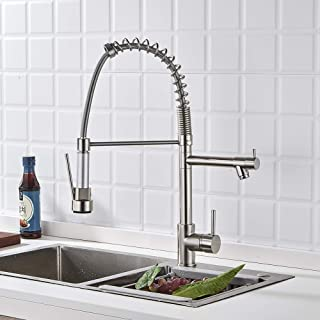 Modern Commercial Kitchen Sink Faucet Single Handle Stainless Steel K 12182 Cp Single
