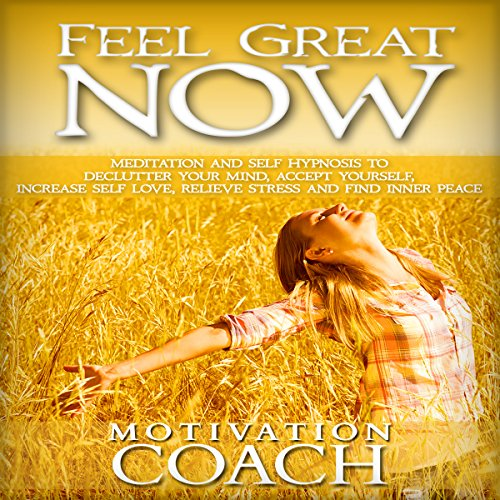 Feel Great Now audiobook cover art